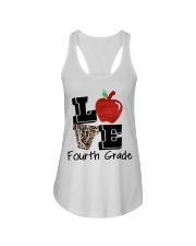 LOVE 4TH GRADE Ladies Flowy Tank thumbnail