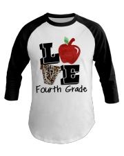 LOVE 4TH GRADE Baseball Tee thumbnail