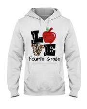 LOVE 4TH GRADE Hooded Sweatshirt thumbnail
