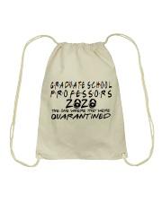 GANDUATE SCHOOL PROFESSORS Drawstring Bag thumbnail