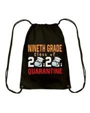 9TH GRADE CLASS OF 2020 Drawstring Bag thumbnail