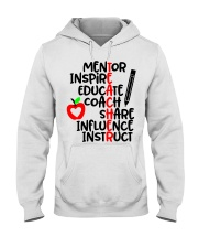 TEACHER FACTS Hooded Sweatshirt thumbnail