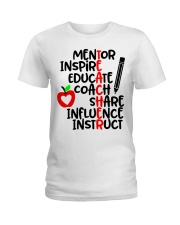 TEACHER FACTS Ladies T-Shirt thumbnail