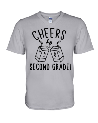 CHEERS TO 2ND GRADE