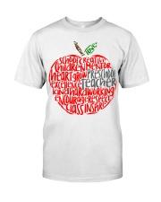 PRESCHOOL APPLE Classic T-Shirt front