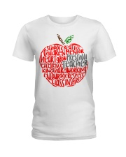 PRESCHOOL APPLE Ladies T-Shirt thumbnail