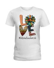 RETIRED TEACHER Ladies T-Shirt thumbnail