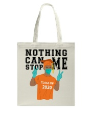 ORANGE - NOTHING CAN STOP ME Tote Bag tile