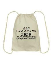 GED TEACHERS Drawstring Bag thumbnail