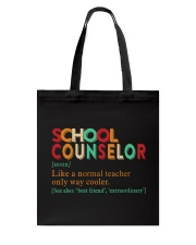SCHOOL COUNSELOR DEFINITION Tote Bag thumbnail