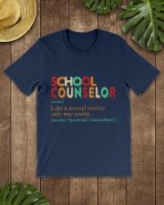 SCHOOL COUNSELOR DEFINITION Classic T-Shirt lifestyle-mens-crewneck-front-18