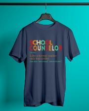 SCHOOL COUNSELOR DEFINITION Classic T-Shirt lifestyle-mens-crewneck-front-3
