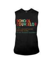 SCHOOL COUNSELOR DEFINITION Sleeveless Tee thumbnail