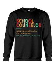 SCHOOL COUNSELOR DEFINITION Crewneck Sweatshirt thumbnail