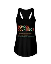 SCHOOL COUNSELOR DEFINITION Ladies Flowy Tank thumbnail