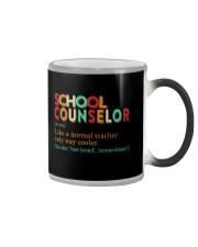 SCHOOL COUNSELOR DEFINITION Color Changing Mug thumbnail