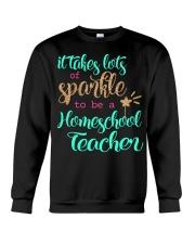 HOMESCHOOL TEACHER SPARKLE Crewneck Sweatshirt thumbnail