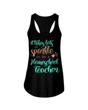 HOMESCHOOL TEACHER SPARKLE Ladies Flowy Tank thumbnail