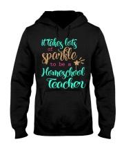 HOMESCHOOL TEACHER SPARKLE Hooded Sweatshirt thumbnail