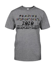 READING INTERVENTIONISTS Classic T-Shirt front