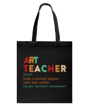 ART TEACHER Tote Bag thumbnail