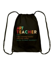 ART TEACHER Drawstring Bag thumbnail