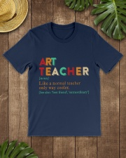 ART TEACHER Classic T-Shirt lifestyle-mens-crewneck-front-18
