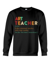 ART TEACHER Crewneck Sweatshirt thumbnail