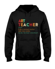ART TEACHER Hooded Sweatshirt thumbnail