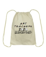 ART TEACHERS Drawstring Bag thumbnail