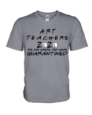 ART TEACHERS V-Neck T-Shirt thumbnail