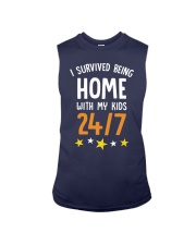 I SURVIVED BEING HOME WITH MY KIDS 247 Sleeveless Tee thumbnail