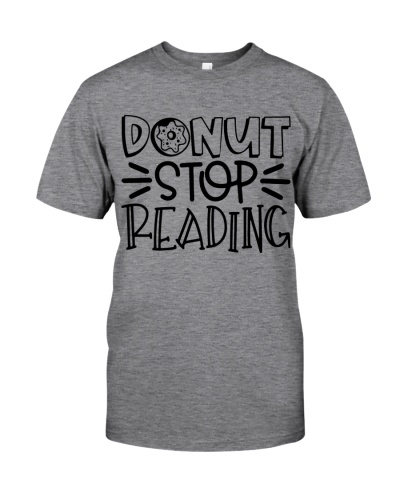 DONUT STOP READING