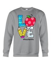 LOVE TEACHER Crewneck Sweatshirt thumbnail