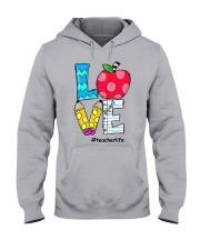 LOVE TEACHER Hooded Sweatshirt thumbnail