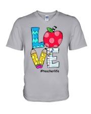 LOVE TEACHER V-Neck T-Shirt thumbnail