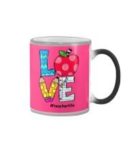 LOVE TEACHER Color Changing Mug thumbnail