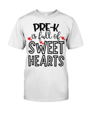 PRE-K HEART Classic T-Shirt front