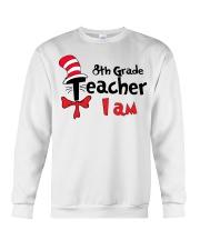 8TH GRADE TEACHER I AM Crewneck Sweatshirt thumbnail
