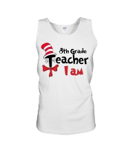 8TH GRADE TEACHER I AM Unisex Tank thumbnail