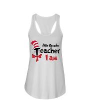 8TH GRADE TEACHER I AM Ladies Flowy Tank thumbnail