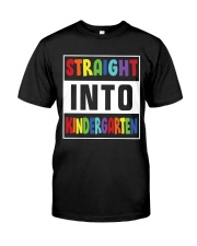 STRAIGHT INTO KINDERGARTEN Classic T-Shirt tile