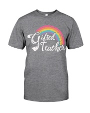 GIFTED TEACHER RAINBOW Classic T-Shirt front