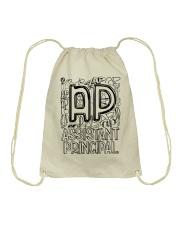 ASSISTANT PRINCIPAL TEACHER DESIGN Drawstring Bag thumbnail