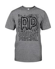 ASSISTANT PRINCIPAL TEACHER DESIGN Classic T-Shirt front