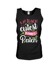 I TEACH THE CUTEST BUNNIES IN THE PATCH Unisex Tank thumbnail
