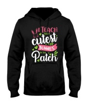 I TEACH THE CUTEST BUNNIES IN THE PATCH Hooded Sweatshirt tile