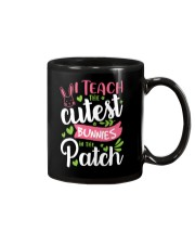 I TEACH THE CUTEST BUNNIES IN THE PATCH Mug tile