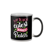 I TEACH THE CUTEST BUNNIES IN THE PATCH Color Changing Mug tile