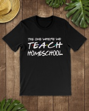 WHERE WE TEACH HOMESCHOOL Classic T-Shirt lifestyle-mens-crewneck-front-18